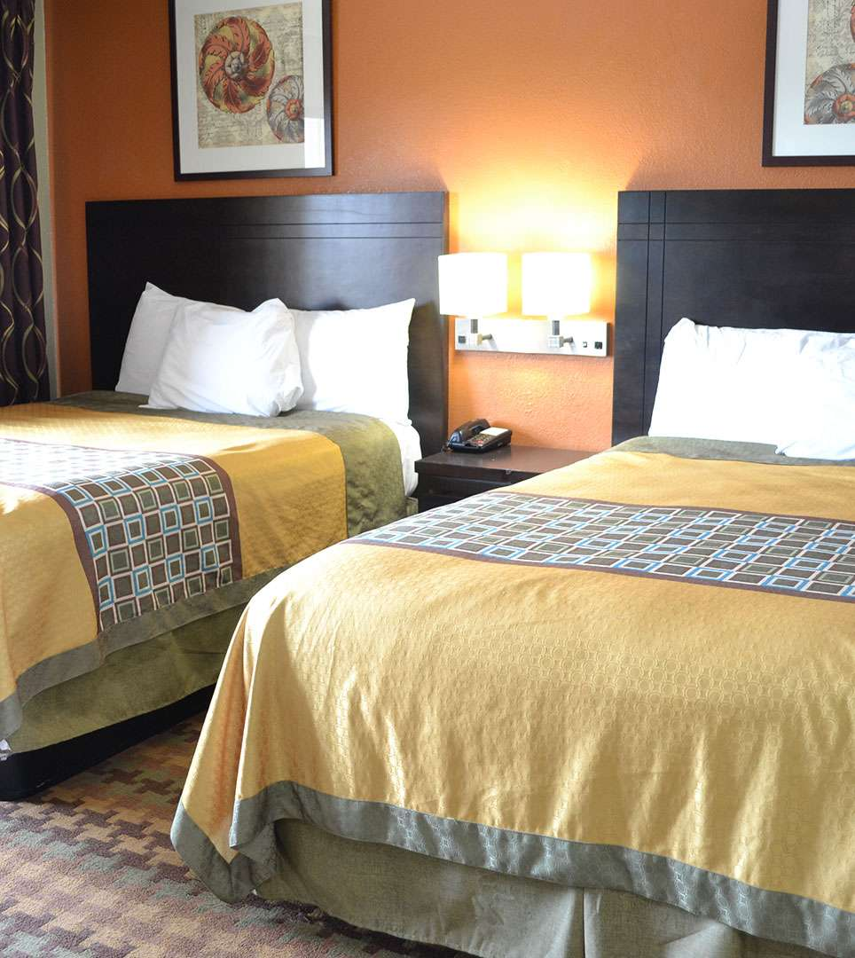 RELAX IN SPACIOUS AND WELL-APPOINTED GUEST ROOMS